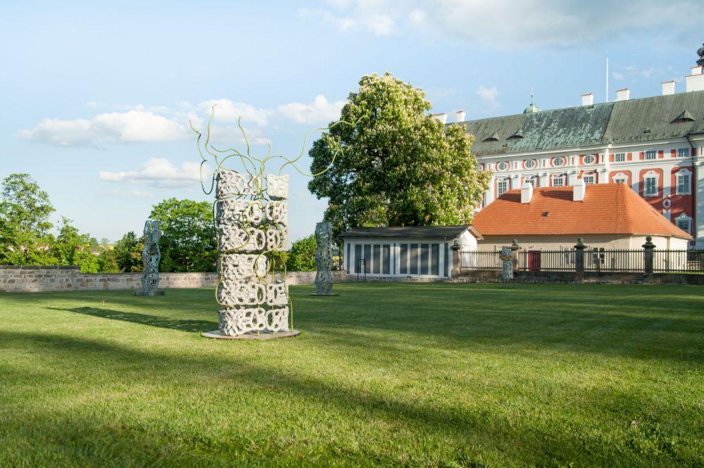 Klášterní zahrada 2020 / Miriam Kaminská a Barbora Kolouchová